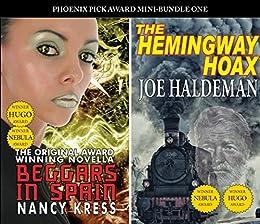 PP Award Winners - Mini Bundle 1: The Hemingway Hoax (Joe Haldeman) & Beggars in Spain (Nancy Kress) by [Joe Haldeman, Nancy Kress]