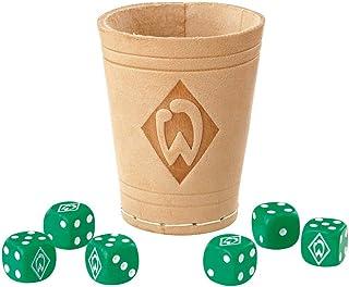 Werder Bremen Würfelbecher/Knobelbecher incl. 6 Würfel