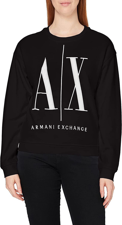 AX Armani Exchange Women's Icon Project Embroidered Sweatshirt