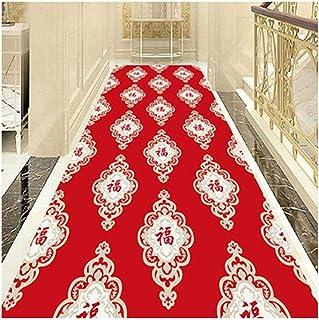 Non-Slip Carpet YANZHEN Hallway Runner Rugs Hotel Lobby Cuttable Soft Non-Slip Washable 7mm Thick Custom Size Stairs Blend...