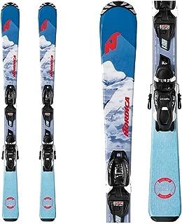 Nordica Little Belle S Kids Skis with JR 4.5 FDT Bindings