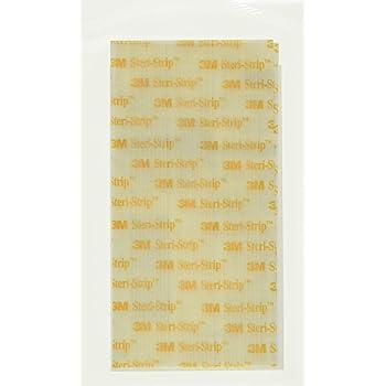 "3M Steri-Strip reinforced Skin Closures - 1/2"" x 4"" - 10 pack of 6 strip envelope (60 strips)"