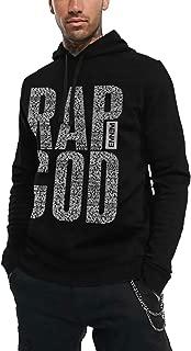 Eminem Rap God Lyrics Logo Men's Hoodie Sweatshirt Black