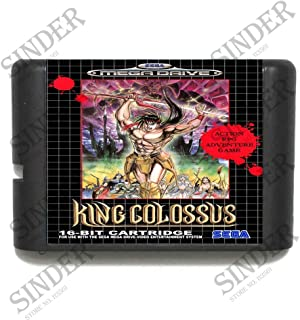 Value★Smart★Toys - King Colossus 16 bit MD Game Card for Sega Mega Drive for Genesis