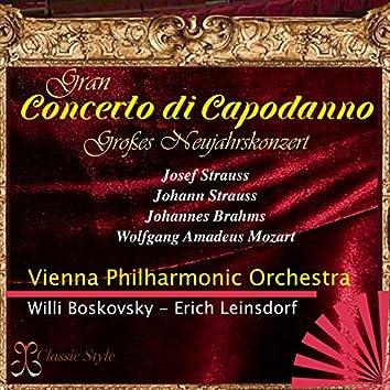 Gran concerto di capodanno (Großes neujahrskonzert)