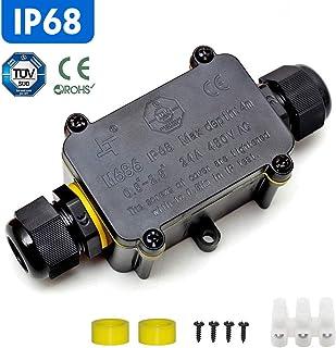 Eslas - Conector de cable para exteriores (IP68, conectores de cable, 5 mm