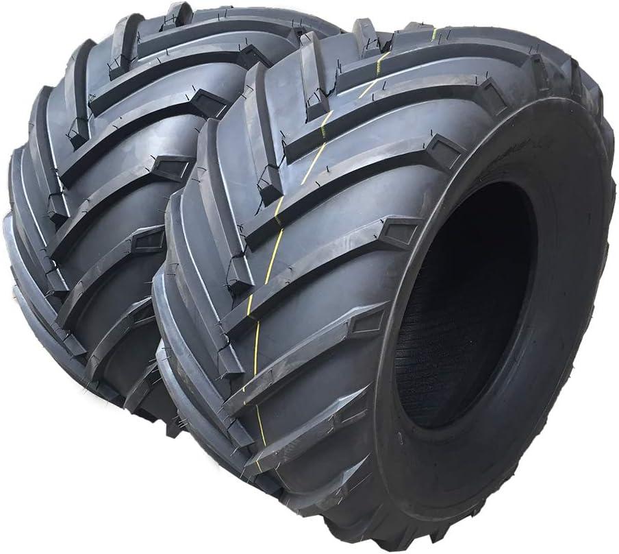 Set Of 2 Turf Bias 18x9.50-8 2PR Turf Tires for Lawn Garden Mower Tubeless 18-9.5-8 For Garden Lawn Mower Tractor Golf Cart Tires 189.5-8