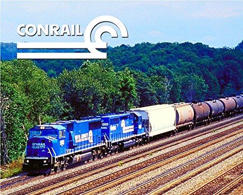 "Conrail ""EMDs"" 8"" x 10"" Metal Sign"