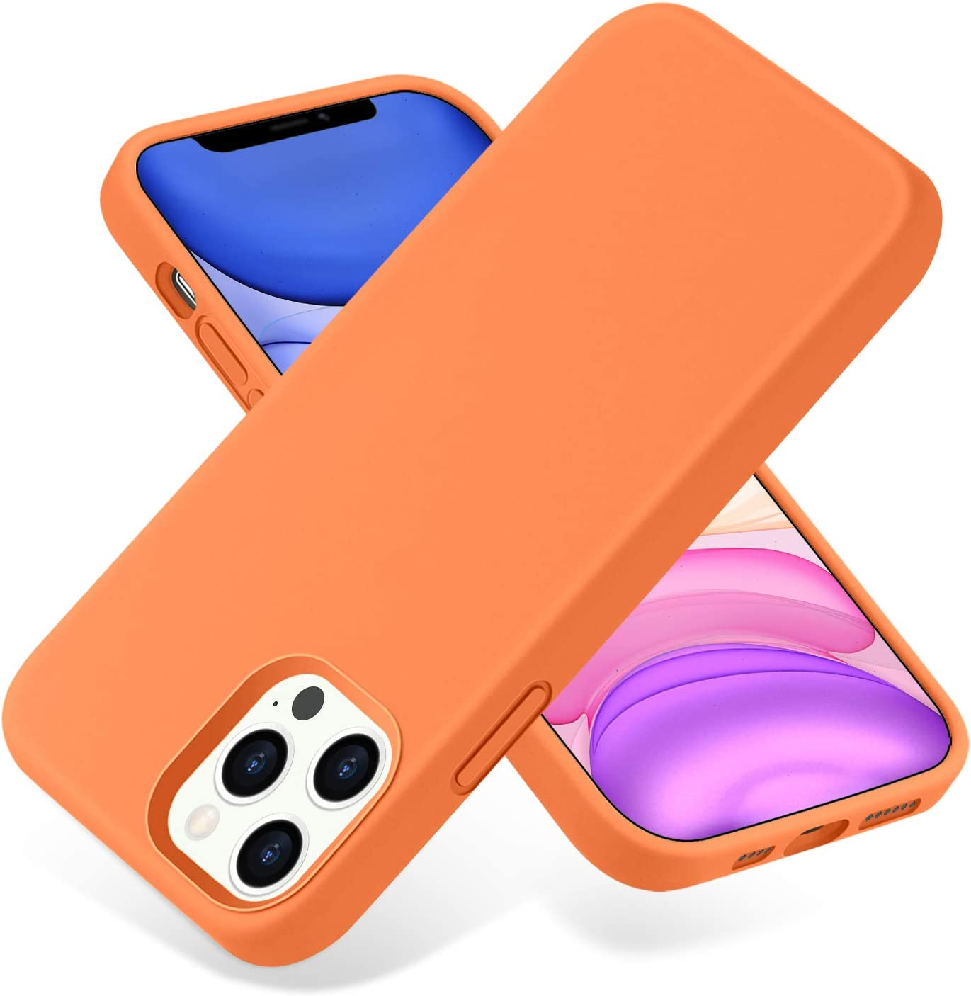 SNBLK Compatible Arlington Mall with iPhone 12 Pro Silicone Liquid Max Case Choice 6.7