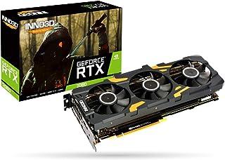 Inno3D GeForce RTX 2080 Gaming OC X3 - Tarjeta gráfica (8 GB, GDDR6, 3 Puertos DP/HDMI/USB-C)