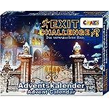 CRAZE Premium Advent Calendar 24720 Calendario de adviento de Navidad 2020 Exit Challenge Juego de...