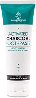 Activated Coconut Charcoal Teeth-Whitening Toothpaste, All-Natural (Single)