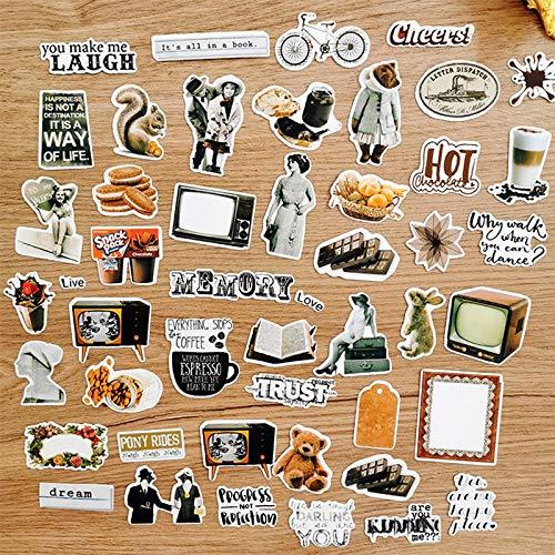 BLOUR stickers van papier om zelf te maken Scrapbooking Album Happy Planner Deco Sticker 47 stuks / tas
