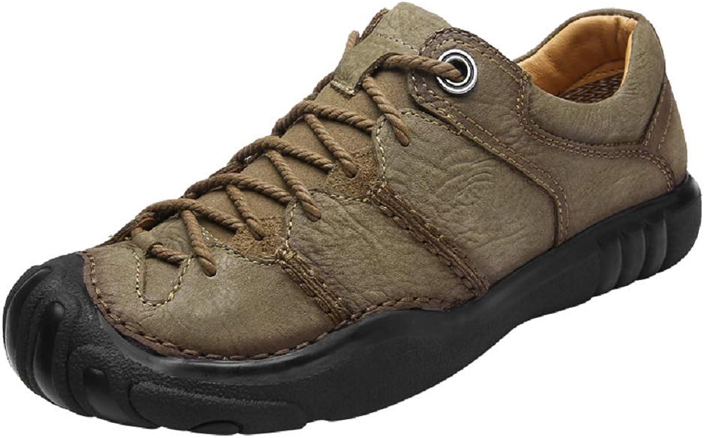 Giles Jones Man Hiking skor Low Top Top Top Lace Up Comfort Anti -Slip Treking Climbing skor  stödja grossistförsäljning