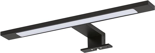 Tiger Ancis LED Spiegelverlichting, Metaal, Zwart, 40 x 3,9 x 11 Cm