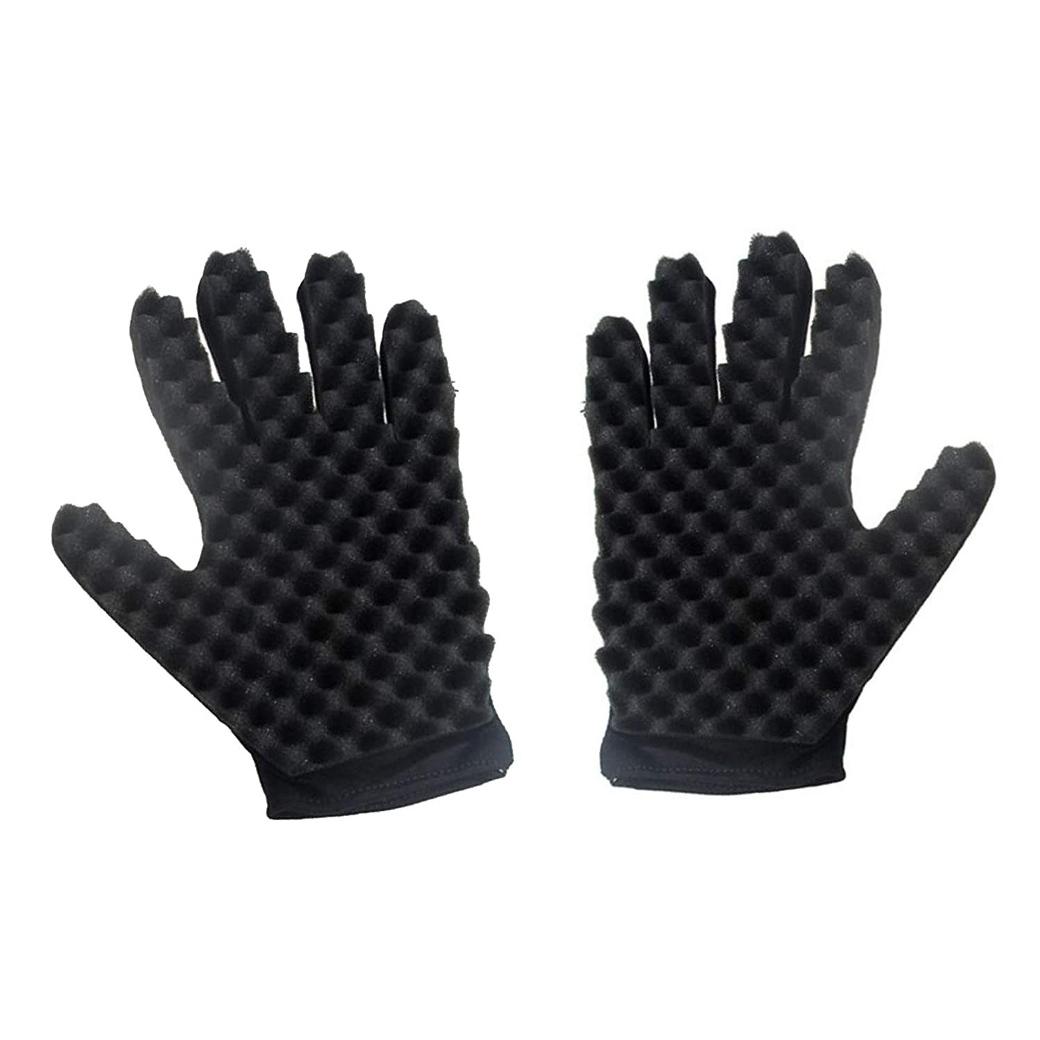 Magic Curly Sponge 2021 new Gloves Airlxf Curl T Hair 2PCS Sales for sale