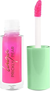 LAQA & Co. Prickly Pear pH Gloss, Color Changing Pink Lip Gloss, Moisturizing and Hydrating Lip Color for Glossy Shine, Mini