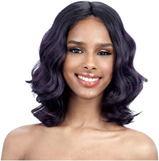 FREEDOM PART 102 (1B Off Black) - FreeTress Equal Synthetic Full Wig