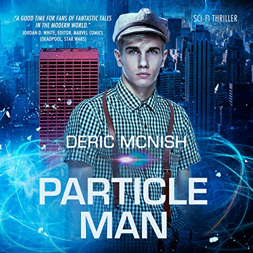Particle Man audiobook cover art