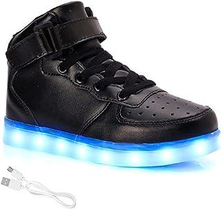 LED-schoenen Verlichten Hoge Schoenen Van Unisex Heren En Dames Met USB Oplaadbaar Gemakkelijk Te Dragen En Draagbaar Voor...