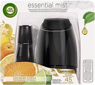comprar comparacion Air Wick Essential Mist - Aparato y recambio de ambientador difusor, esencia para casa con aroma a Explosión Cítrica, pack...