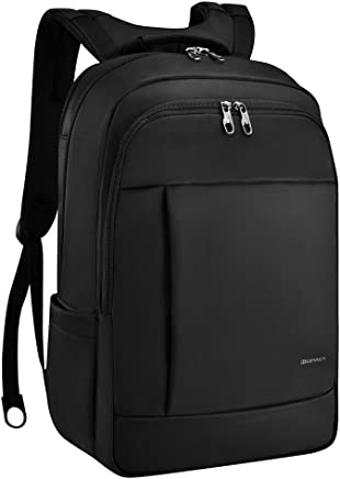42209592c7ff KOPACK Deluxe Black Water Resistant Laptop Backpack 15.6 17 Inch Travel  Gear Bag Business Trip Computer