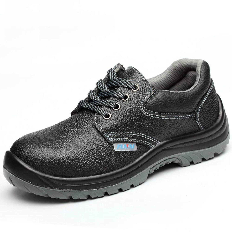 放課後処理する残り安全靴 作業靴 メンズ レディース スニーカー つま先靴底防護鋼片付き 耐磨耗 衝撃吸収
