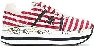 PREMIATA Women's BETH2987 Red Cotton Sneakers