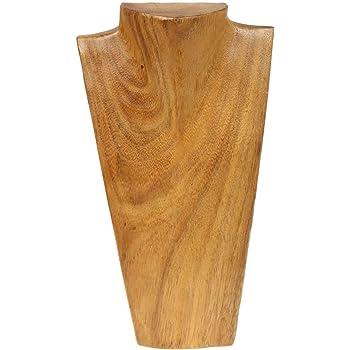 Holz Anhänger Schmuckständer, Halskette Display Kleiderbügel