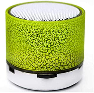 Portable Mini Bluetooth Speaker Wireless MP3 Music Player, S-10U - Green