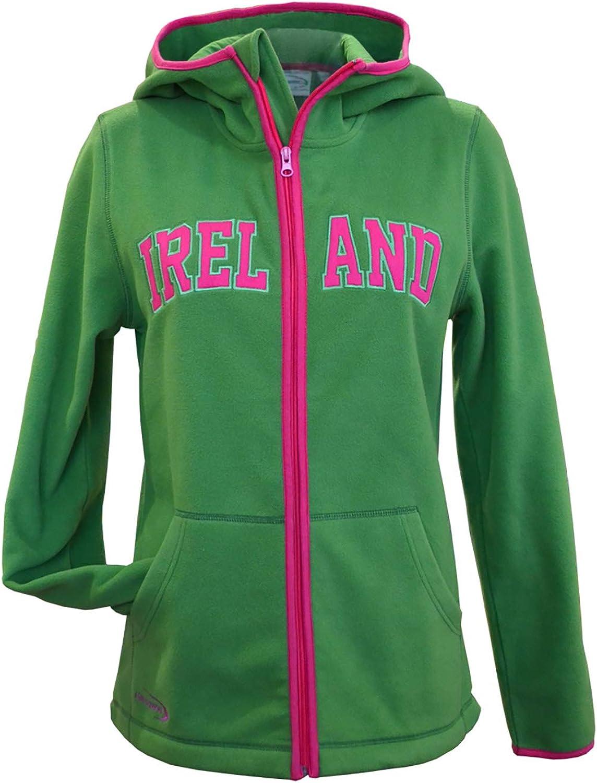 Traditional Craft Ltd. Sage Pink Zip Fleec Ireland Ladies Super popular specialty store Hooded Branded goods