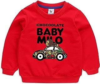 Baby Milo Long Sleeve T-Shirts-Kids Cartoon Pullover Hoodies Fashion Cotton Children's Sweatshirts
