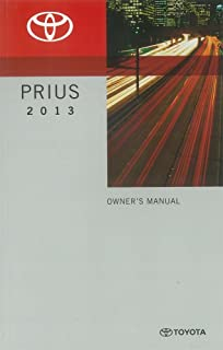 bishko automotive literature 2013 Toyota Prius Owners Manual User Guide Reference Operator Book Fuses Fluids