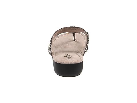 Silverthorne Denim Minnetonka Leather Thong FabricPewterWhiskey Black LeatherBlue 7wZSw
