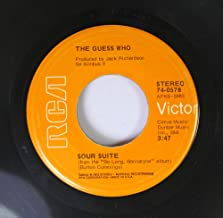 The Guess Who 45 RPM Sour Suite / Lif in the Bloodstream