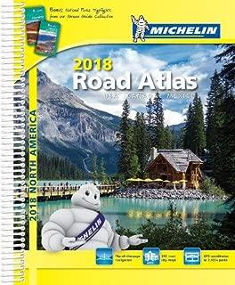 Michelin North America Road Atlas 2018