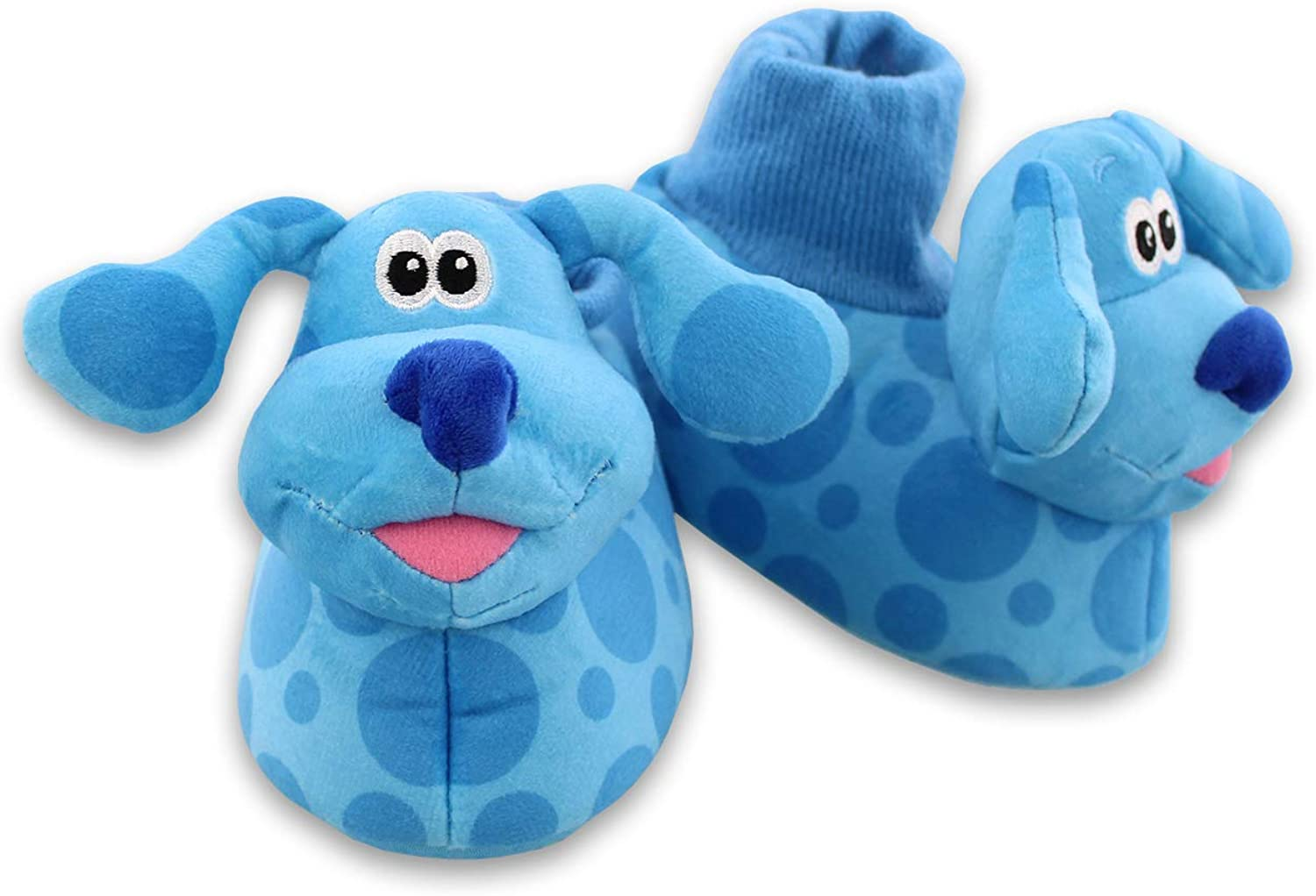 Blue's Clues & You Toddler Plush 3D Sock Top Slippers