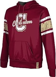 ProSphere College of Charleston University Men's Pullover Hoodie, School Spirit Sweatshirt (End Zone)