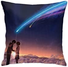 Mabel Kimi No Na Wa Your Name Square(45cmx45cm) Pillow Home Bed Room Interior Decoration