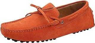 Baymate Unisexe Loafers Chaussures à Enfiler Chaussures Bateau pour Conduite