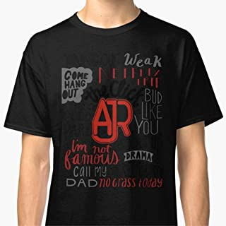 Unisex T-Shirt AJR The Click Shirts For Men Women White T Shirts