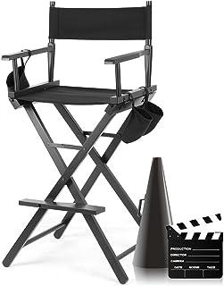 Silla portátil o Taburete, Adecuada para Maquillaje, Director de Cine, tratamientos de estética y Fisioterapia, masajes, reconstrucción y decoración de uñas