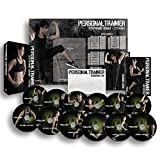 Personal Trainer: 90 Day Workout Program 12 Exercise Videos on DVD + Training Calendar, Fitness...