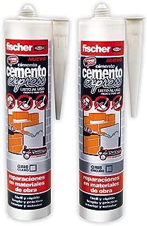 FISCHER 512348 - Cemento EXPRESS gris OSCURO