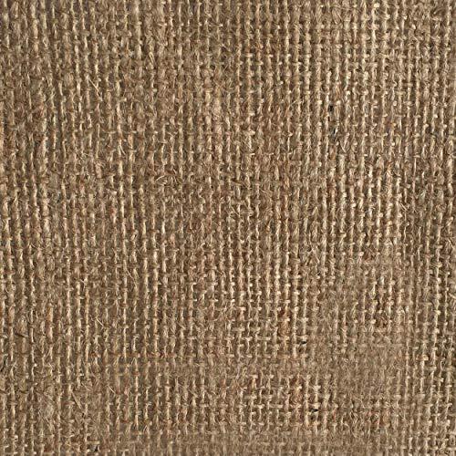 Panini Tessuti Juta Tessuto in Fibra Naturale - Ritagli da 2-5 - 10 mt x 1,40 mt di Altezza