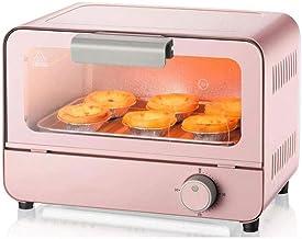 NIHAOA Barbacoa Microondas 6L eléctrico Mini Horno con Multi Función Cooking Light & Grill Temporizador 800 W Fácil de Limpiar Electrodomésticos Pan de la hornada de la Cocina