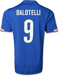 PUMA Youth Drycell Balotelli Italy Home Jersey