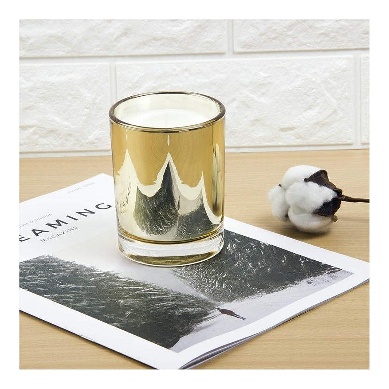 感性ボウリングファンブルACAO ゴールドカップキャンドル大豆アロマセラピーパーティーキャンドル誕生日プレゼント植物キャンドル