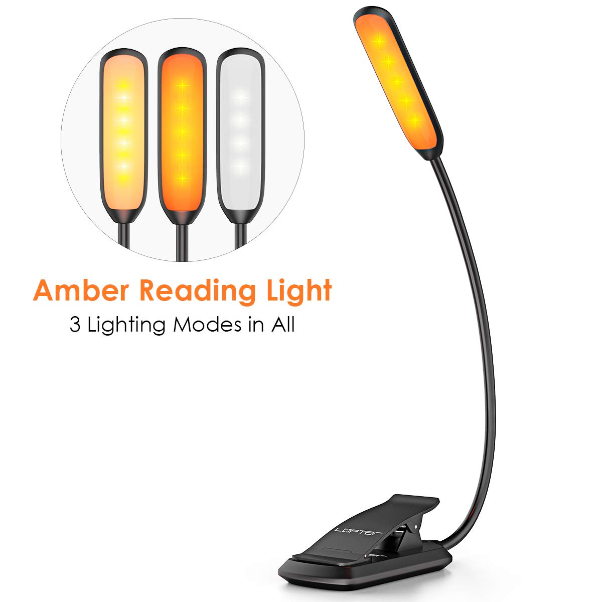 LOFTer Rechargeable Lighting Dimmable Bookworms