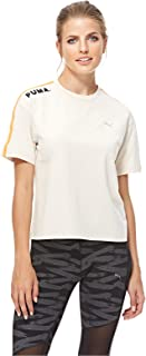 Puma Chase Tee For Women, Size XL Beige
